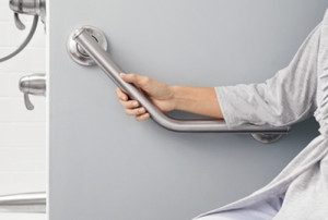 Mathews Home Service Installs Senior Safety Grab Bars